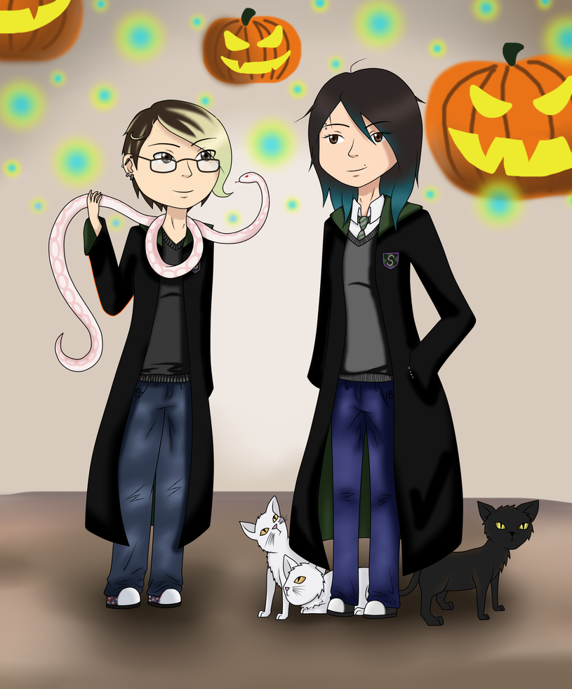 HP- Slytherin ~Halloween... by Anonymous---Lucifer