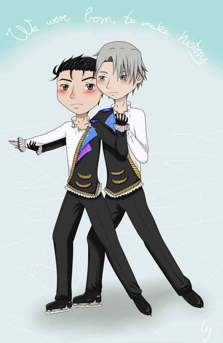 Yuri on Ice - Doubles figure skating by Anonymous---Lucifer