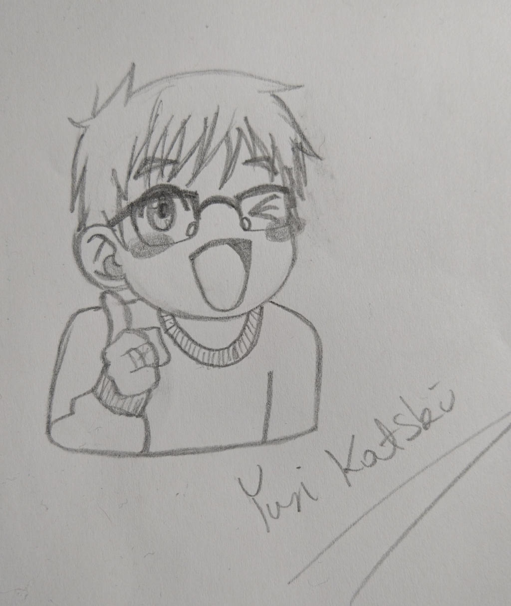 Katsuki Yuri by Anonymous---Lucifer