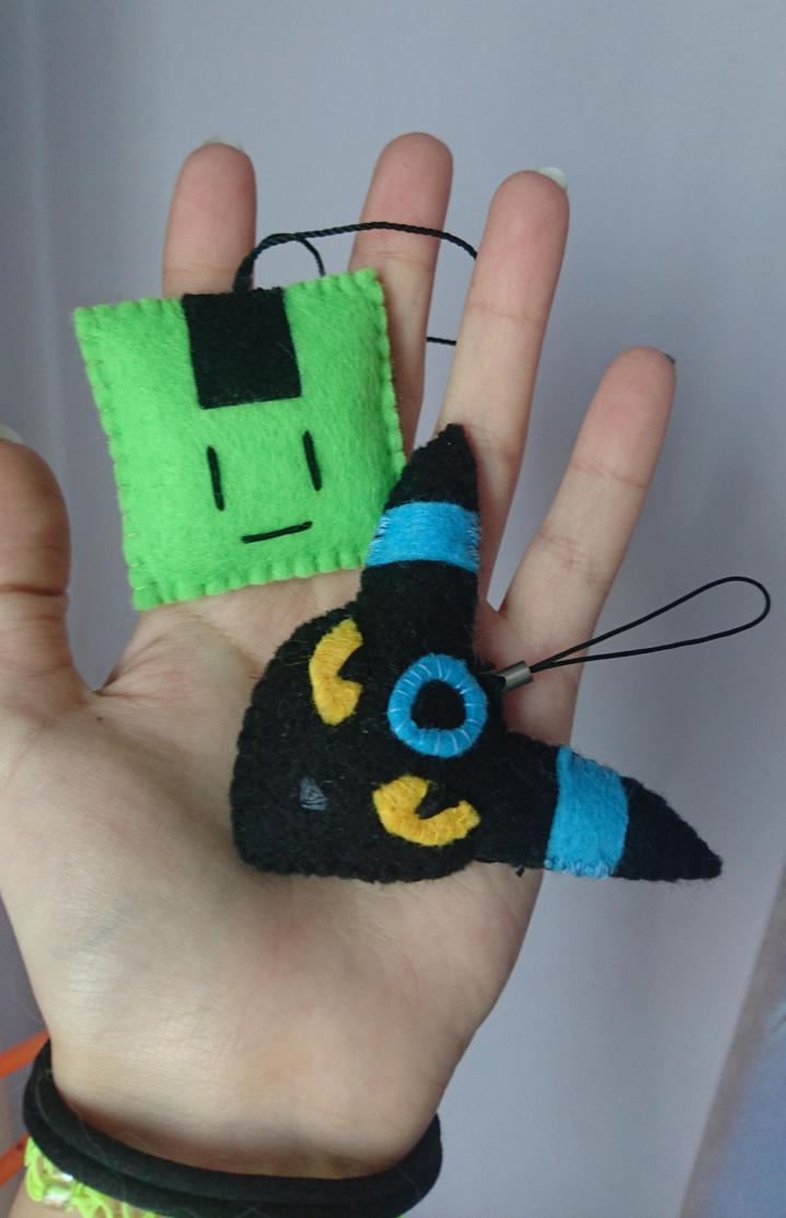 Plush keyrings by Anonymous---Lucifer