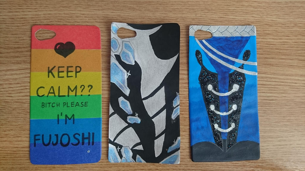 Phone case - Exchangeable backgrounds by Anonymous---Lucifer