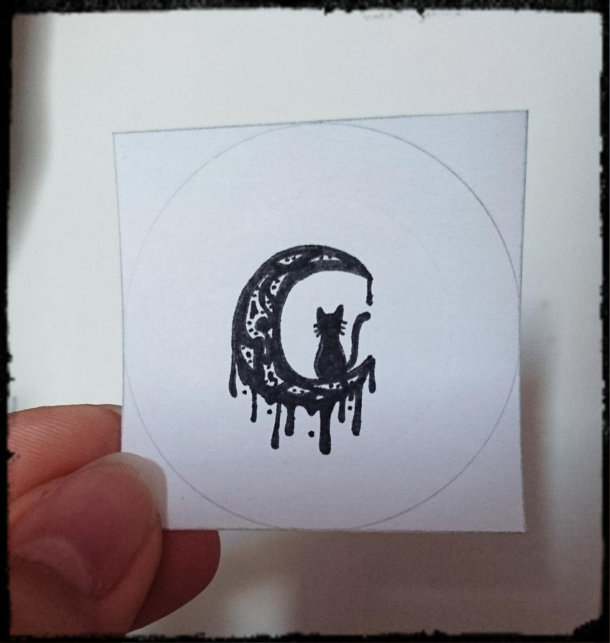 Badge basic drawing... by Anonymous---Lucifer