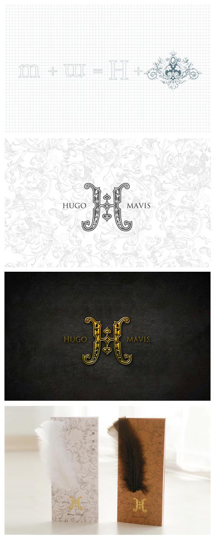 Logo, wedding invitaion card by garychew
