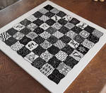 Art chess n. 2. the doodle