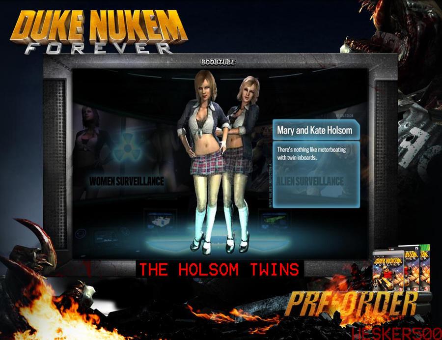 Nukem gif twins nude Duke forever