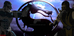 Cyber Sub Zero vs Scorpion