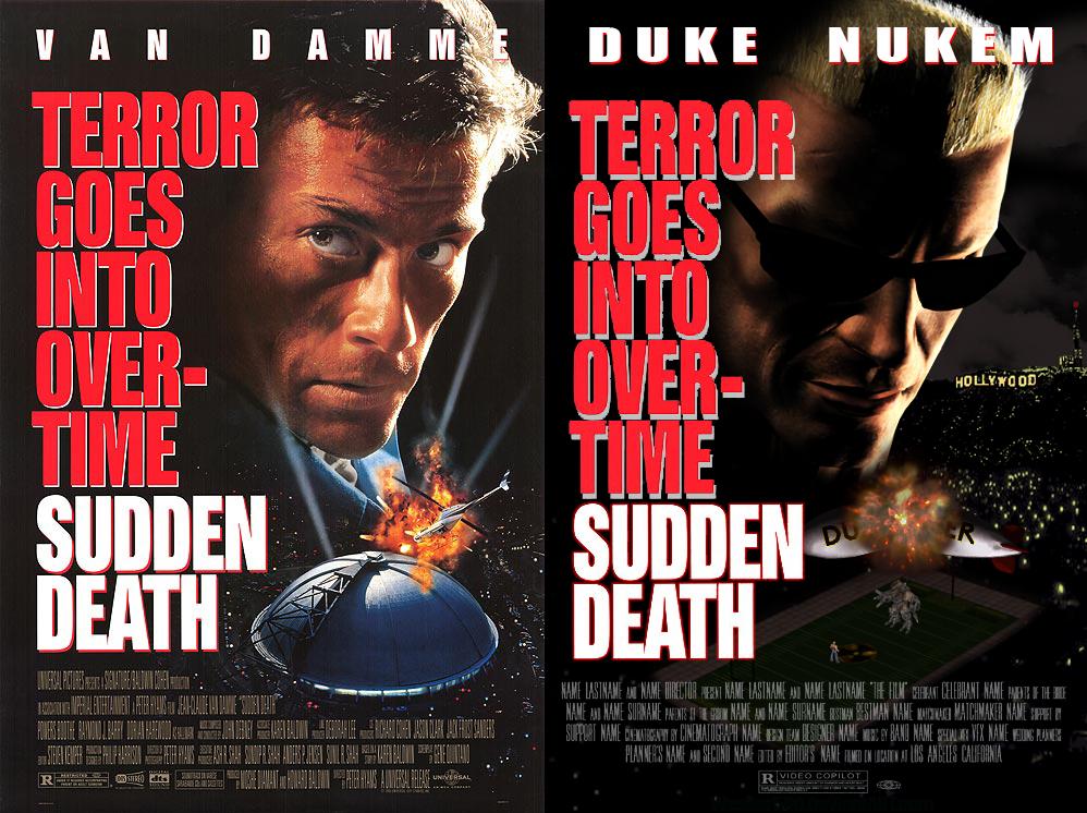 Duke Nukem in Sudden Death by Wesker500