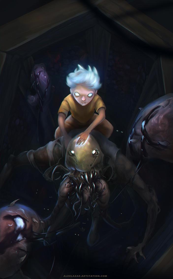 Jacob Portman and his Hollow by AlexLazar