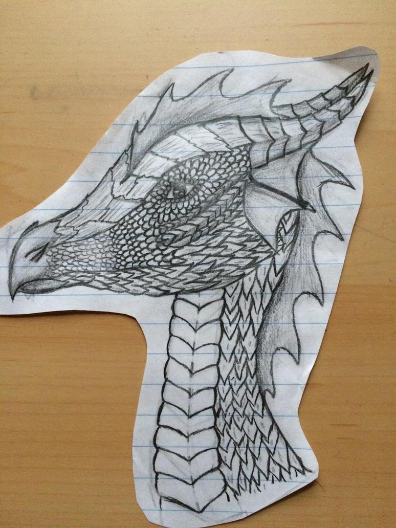First dragon by Katgurl02