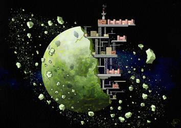planet station concept