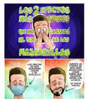 Efectos Mascarillas comic