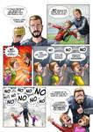 comic page Historias de padre