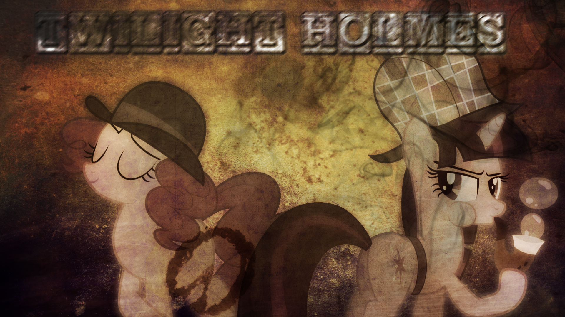 Twilight Holmes Wallpaper by BlackHoleII