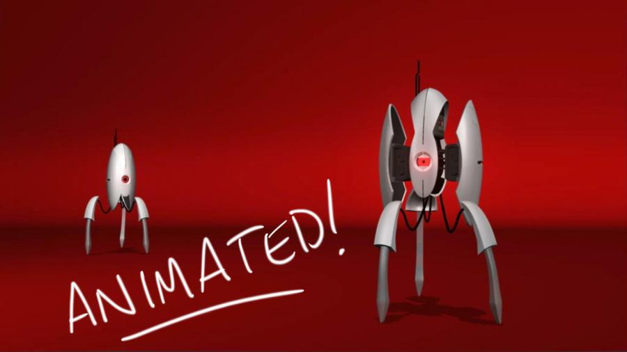 Turret Animation Test by James Daly by alexzemke