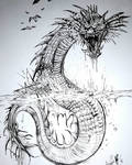 Giant Aquatic Snake