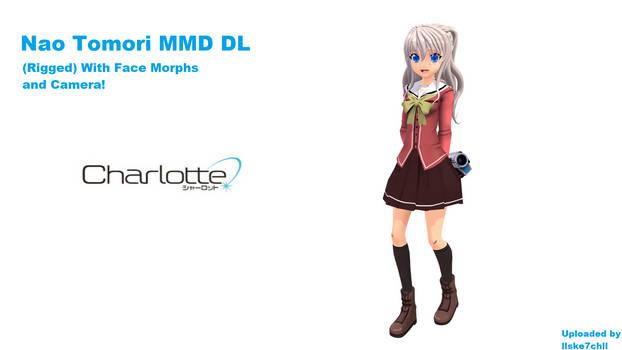 Tomori Nao By Ske7ch MMD DL (Charlotte)
