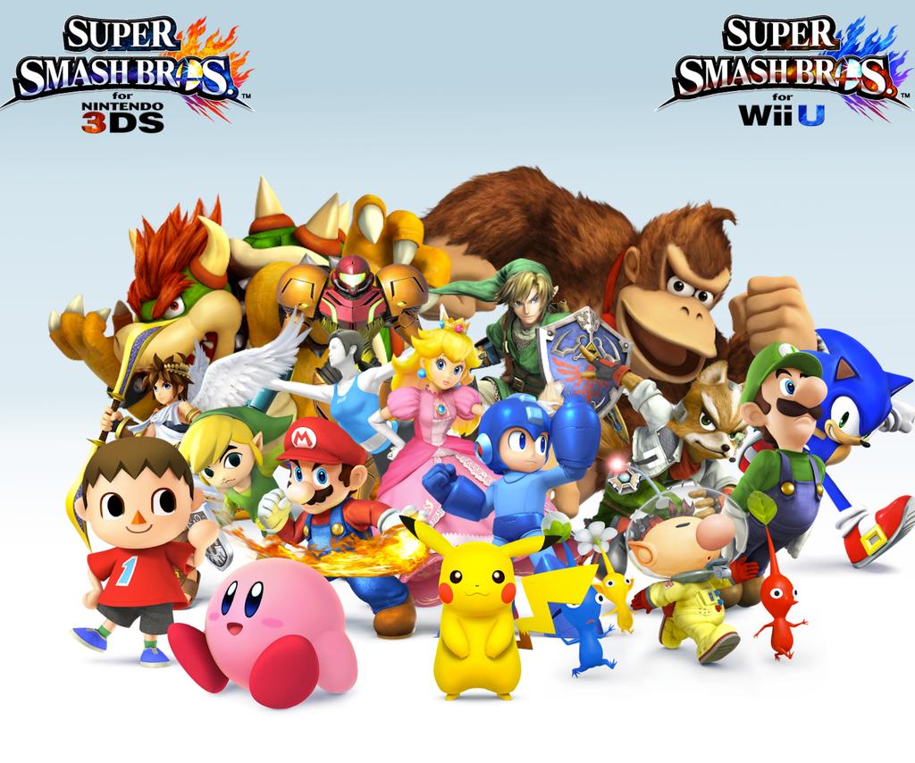Mario Nintendo 3ds Super Bros Smash