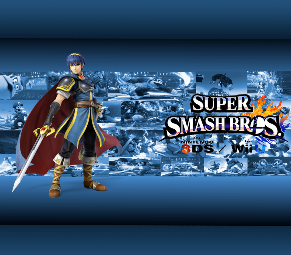 Marth Wallpaper by CrossoverGamer