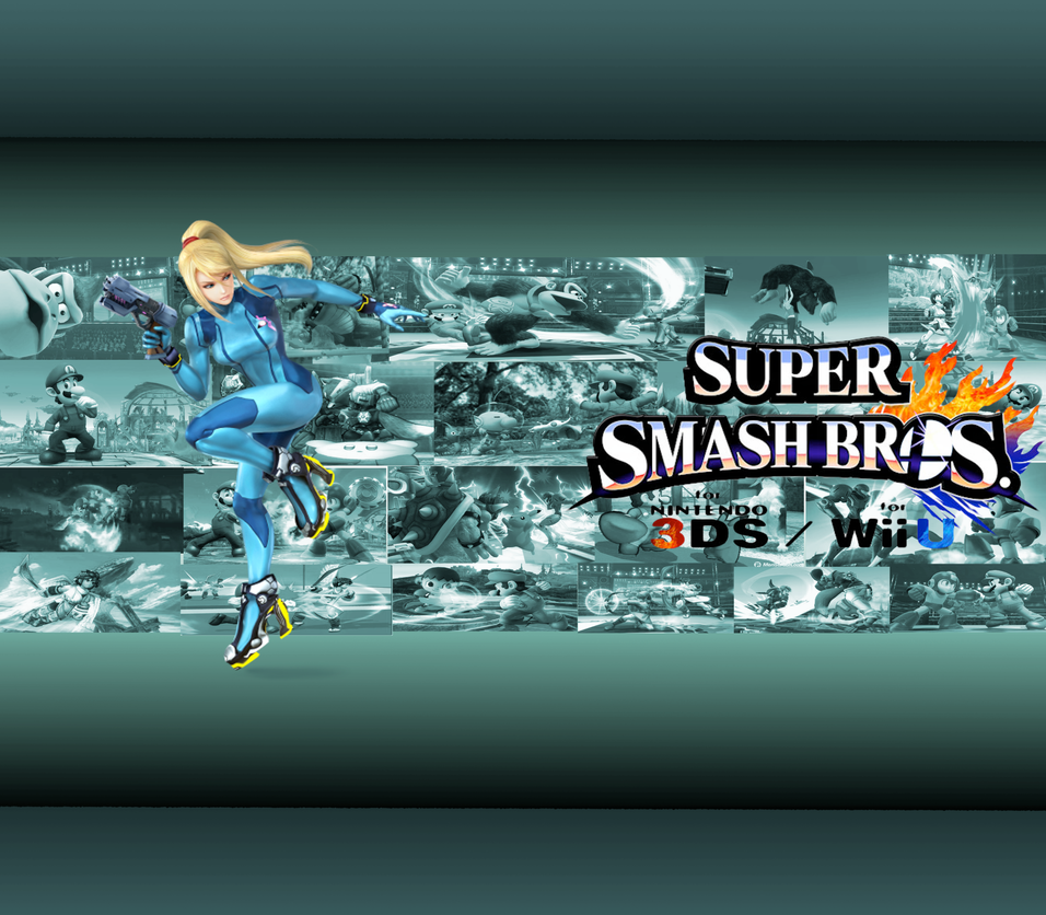 Zero Suit Samus Wallpaper by CrossoverGamer
