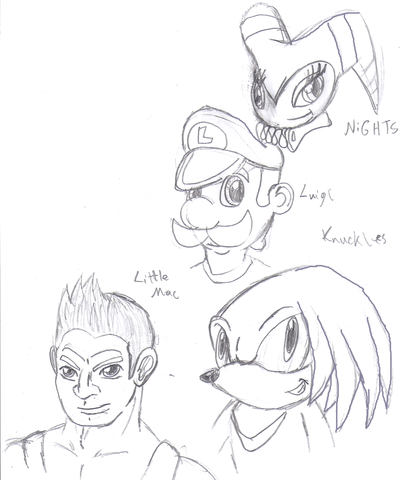 Fav Characters 3 by CrossoverGamer