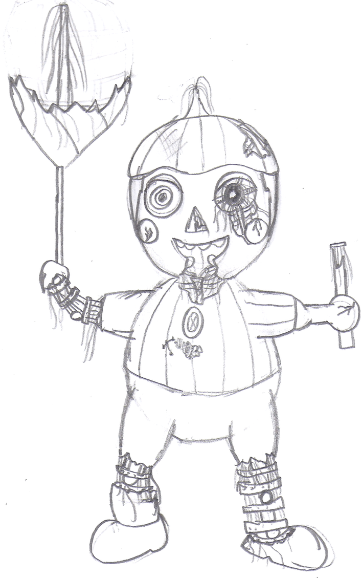 Nightmare Balloon Boy Pages Printable