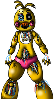 Withered Toy Chica-No Background-