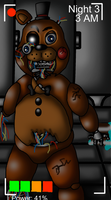 Withered Toy Freddy in the Lady's Room