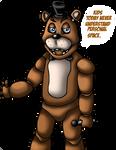 AU-Freddy Fazbear by CrossoverGamer