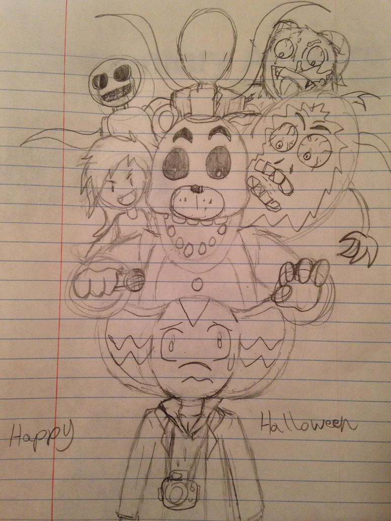 Happy Halloween Everyone by CrossoverGamer