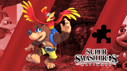 Super Smash Bros. Ultimate- Banjo Kazooie by CrossoverGamer