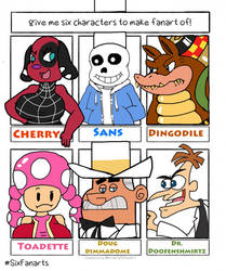 6 Character Thing