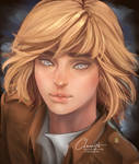 Armin Arlert by claerith