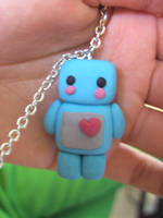 Fimo robot. by SquareBelly