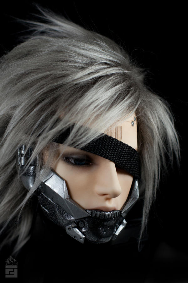 Jack Raiden bjd head make up and mod by FallFox