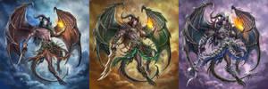 Half-blood Dragon Triple