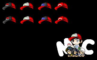 Pokemon Hat Set by HeavenlyMemories