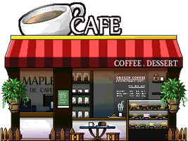 Maple Cafe | Resource by HeavenlyMemories