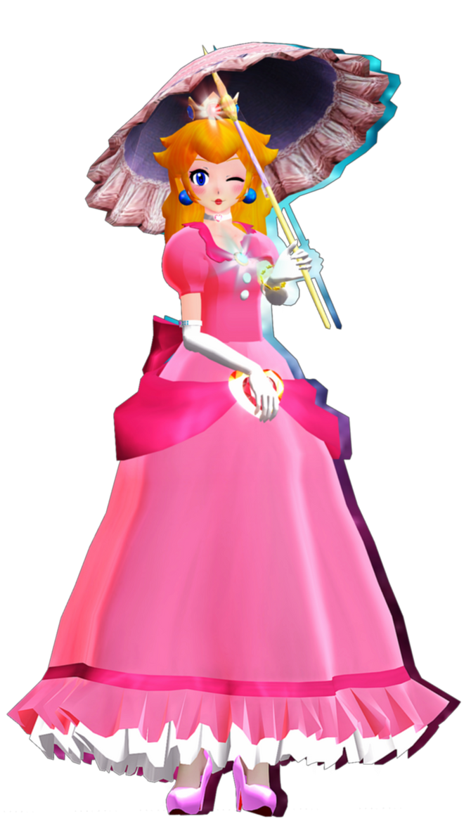 MMD TDA: ~ Princess Peach ~ [DL] by AmaneHatsura on DeviantArt