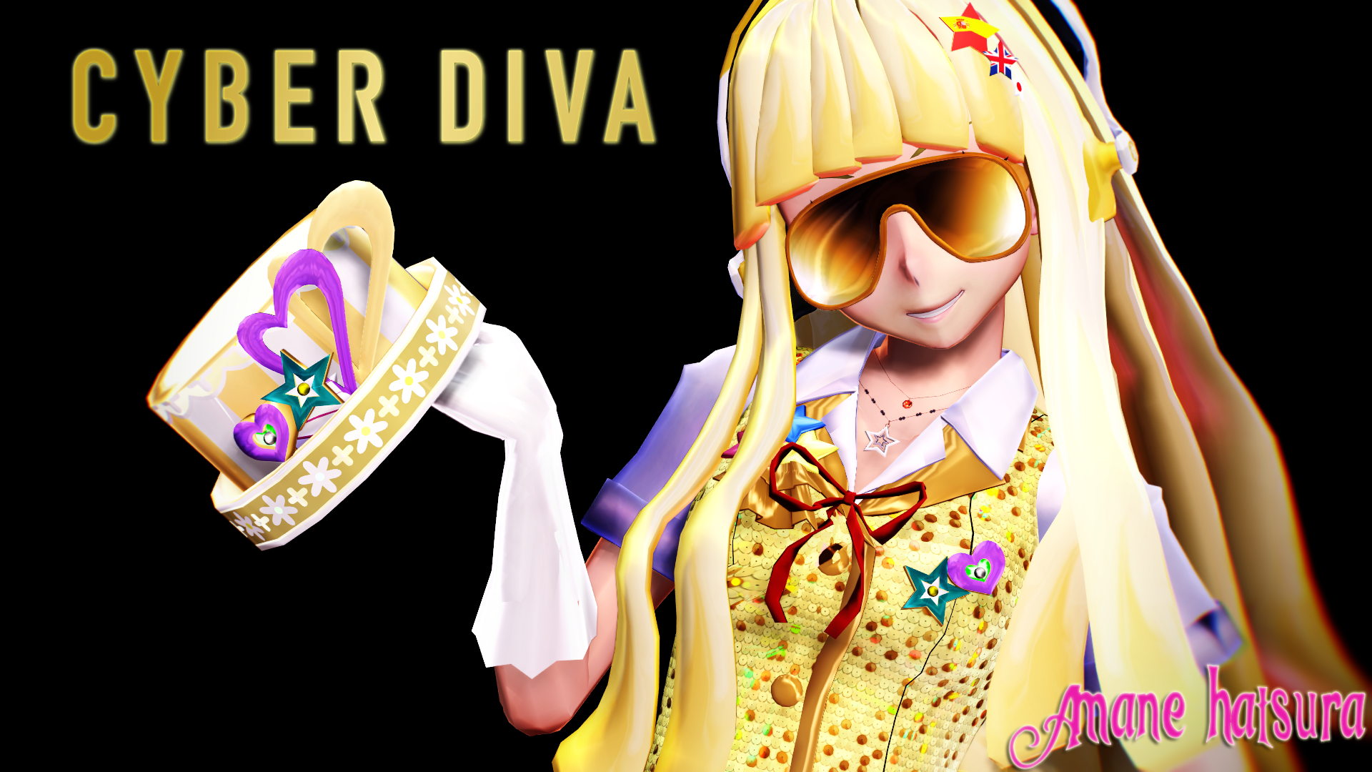 Mmd tda magical cyber diva by amanehatsura on deviantart - Cyber diva vocaloid ...