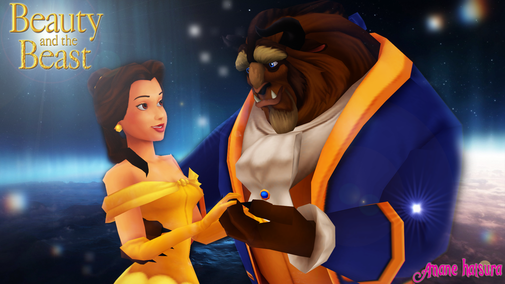 Download Beauty And Beast: MMD Disney: Beauty And The Beast By AmaneHatsura On DeviantArt