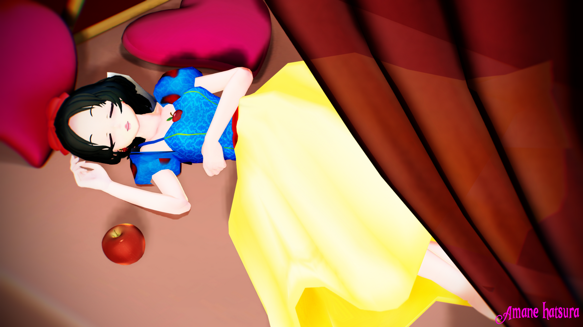MMD TDA:Snow White by AmaneHatsura