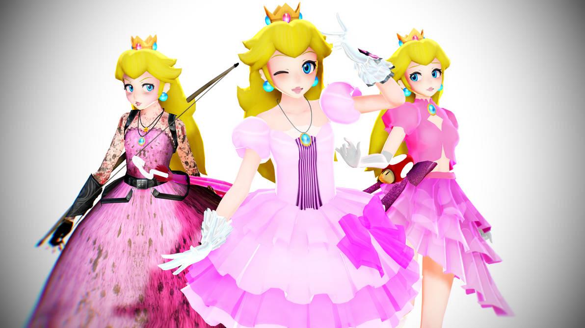 [MMD] Princess Peach [No more DL] by SadaoKen on DeviantArt