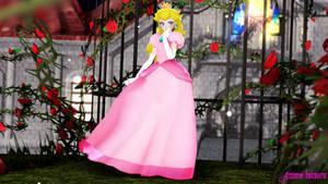 MMD TDA:Princess Toadstool,Peach