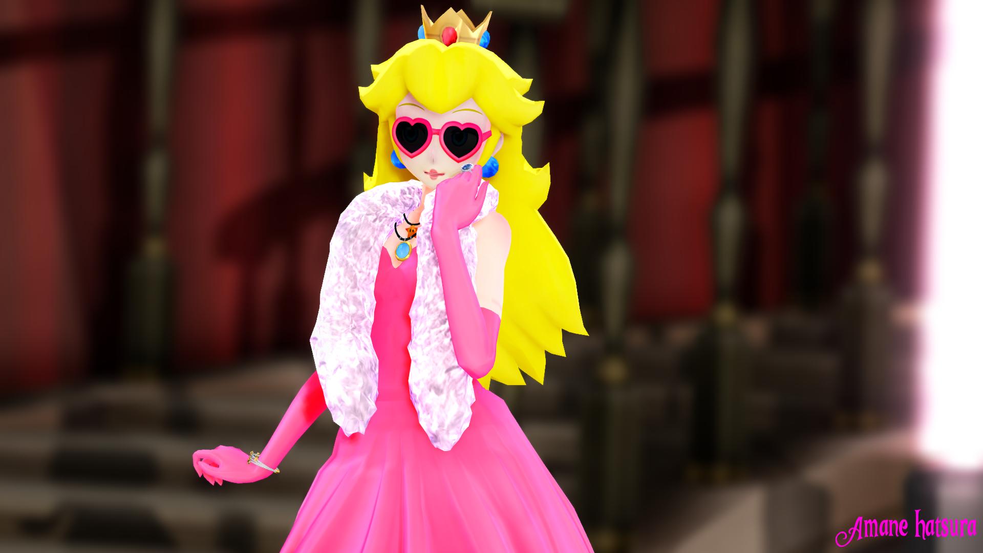 MMD:Princess Peach by AmaneHatsura on DeviantArt