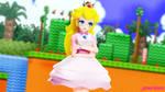 MMD TDA: ~ Princess Peach Superheroine ~ by AmaneHatsura