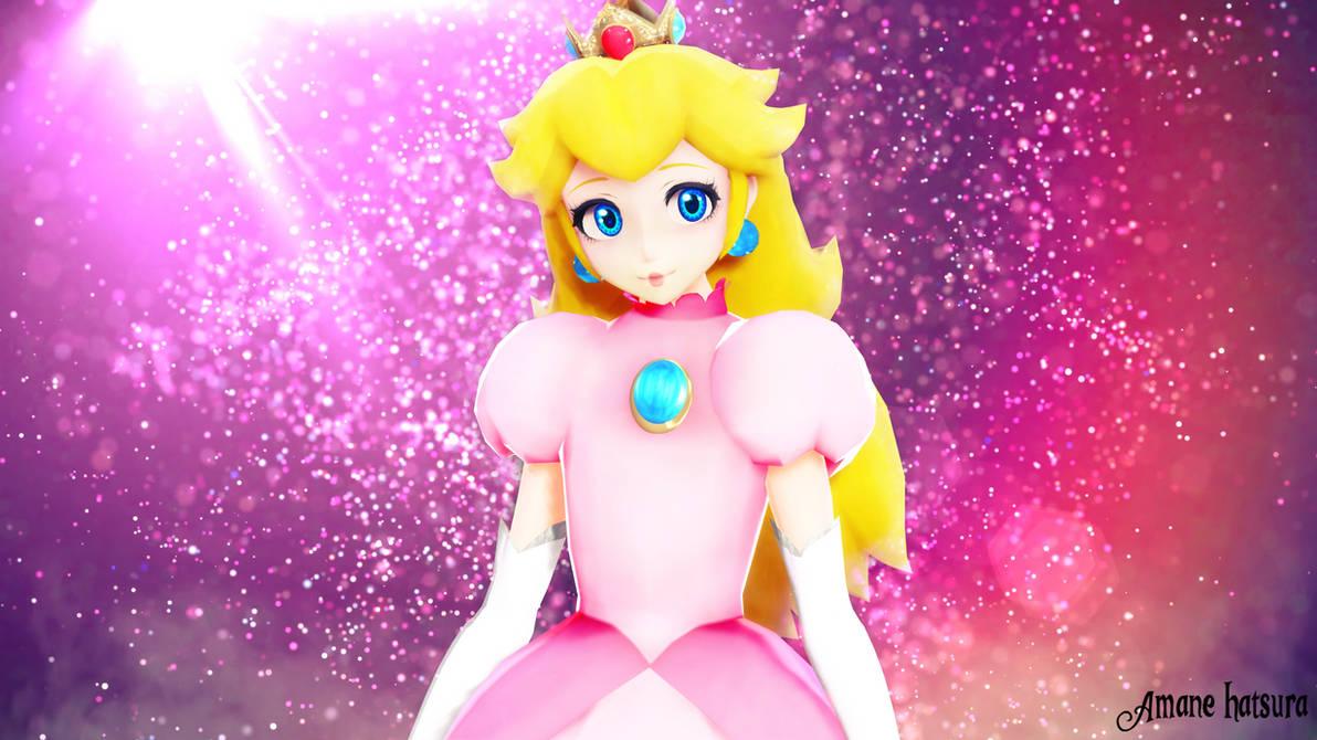 MMD TDA: Princess Peach Nurse by AmaneHatsura on DeviantArt