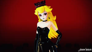MMD TDA: Princess Peach Elegant by AmaneHatsura