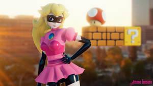 MMD TDA: ~ Princess Peach Superheroine ~