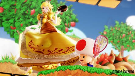 MMD TDA: ~ Ohhh, did I win? ~ ( Princess Peach ) by AmaneHatsura