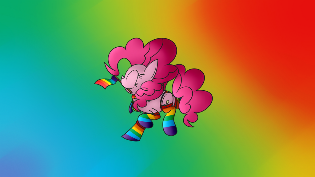 Gay As Pride Pinkie Wallpaper By Deadninja21